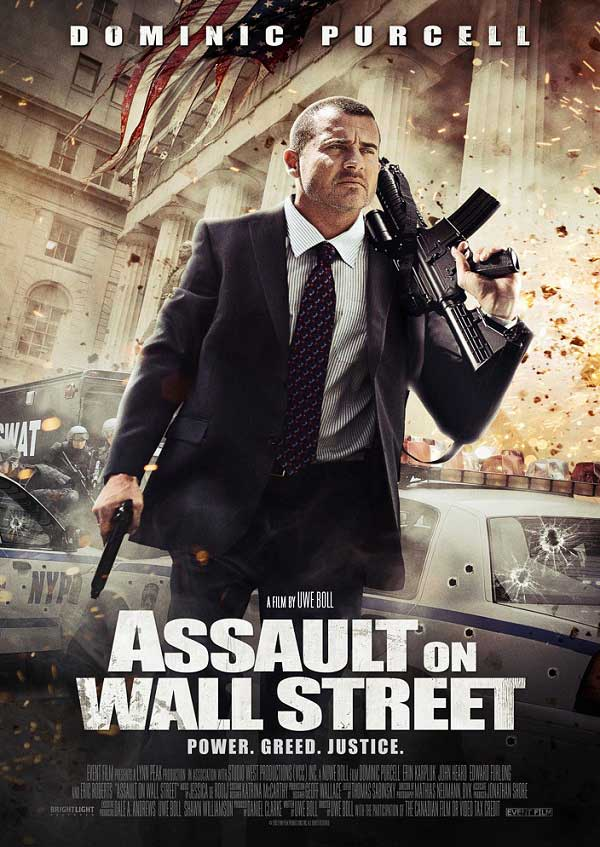 Assault on Wall Street - Borsaya Saldırı Film Afişi