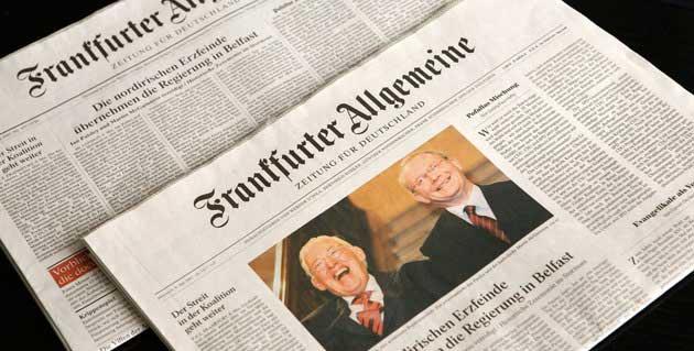 Frankfurter Allgemeine Zeitung 2014 Borsa Yorumu