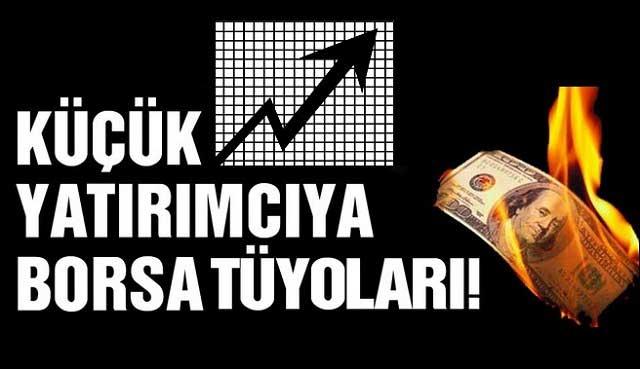 Küçük Yatırımcı için Borsa Tüyoları