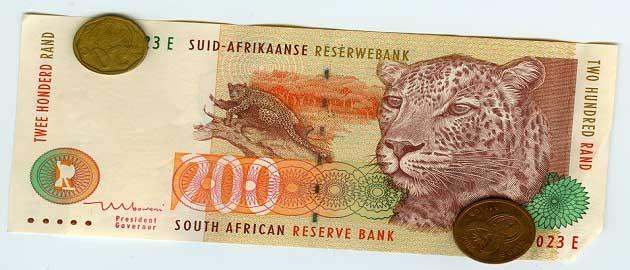 Güney Afrika Cumhuriyeti Randı (ZAR - R)