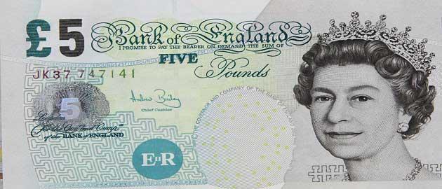 İngiliz sterlini (GBP - £)