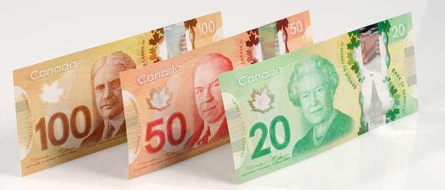 Kanada doları (CAD - C$)