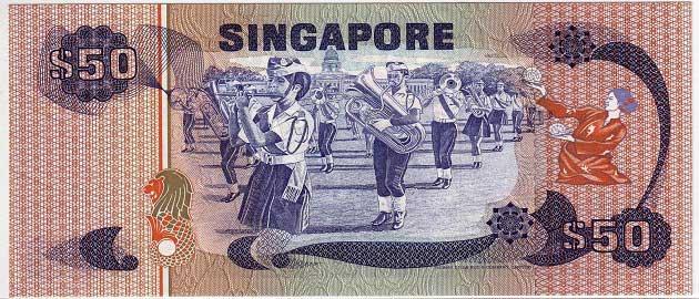 Singapur doları (SGD - $S)