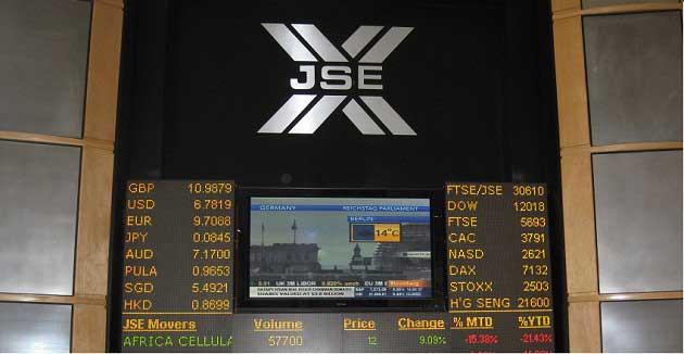Johannesburg South Africa Exchange
