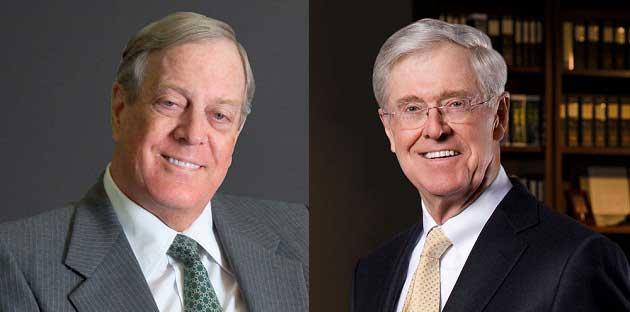 Charles ve David Koch Kardeşler