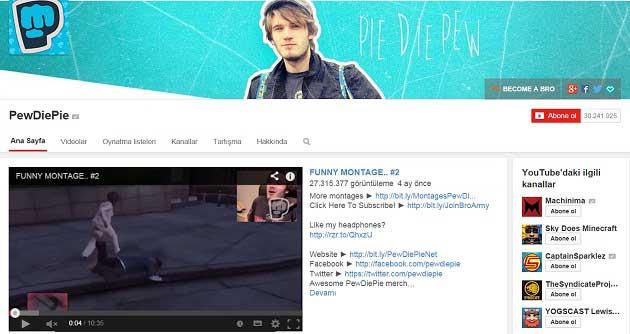 Youtube Kanali Yapmak