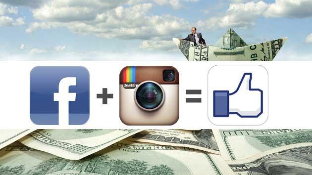Instagram Sayesinde Facebook Yatırımcıları Zengin Oldu!