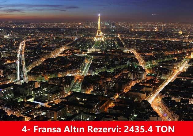 Fransa Altın Rezervi