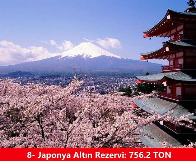 Japonya Altın Rezervi