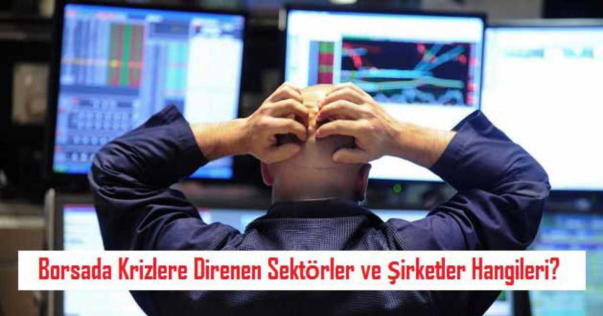 Borsada Krizlere Direnen Sektörler ve Şirketler Hangileri?