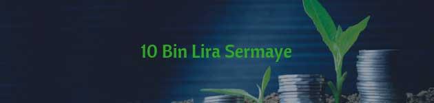10 Bin Lira Sermaye ile Yatırım Yapılacak İşler