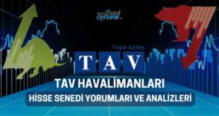 TAV Havalimanları Holding (TAVHL) Hisse Senedi Yorumları, Günlük Tahminler ve Analizler
