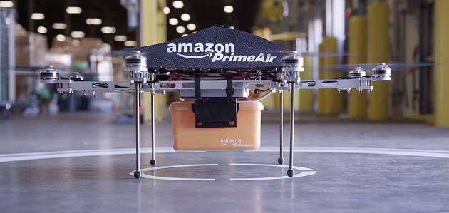 Amazon Dronela Taşımacılık