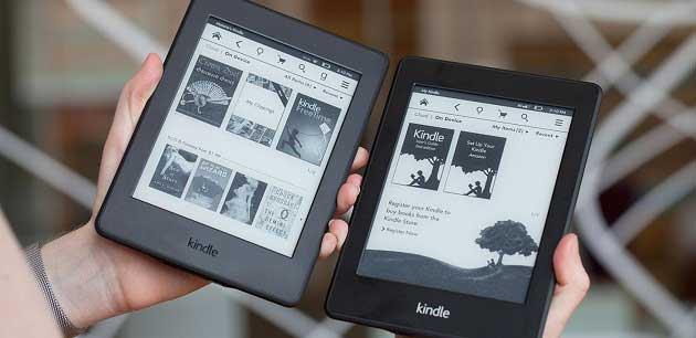 Amazon E-Kitap Okuyucu Kindle
