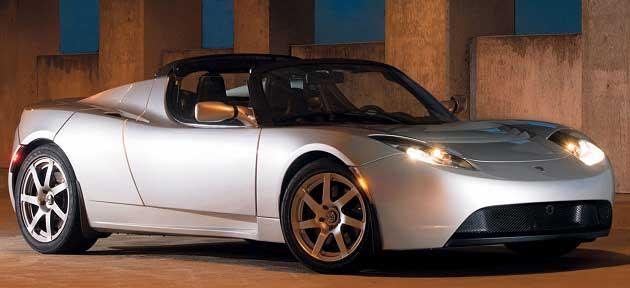 İlk Tesla Roadster