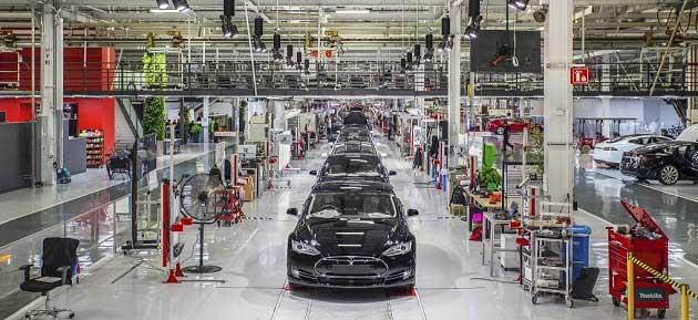 Tesla Fremont Fabrikası