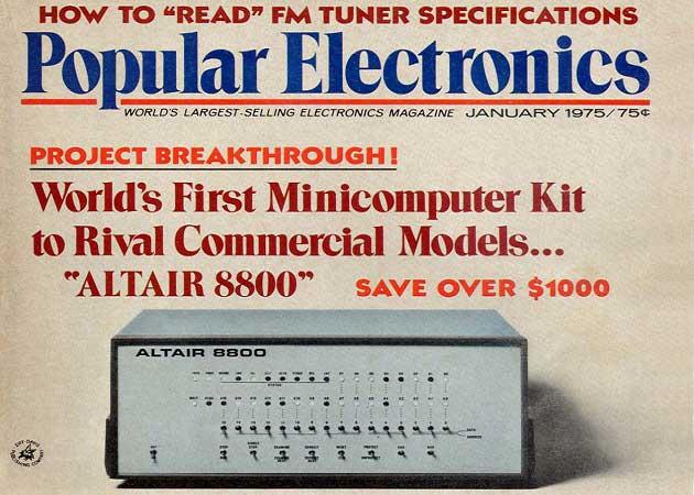Altair 8800 Popular Electronics Dergisi Tanıtımı