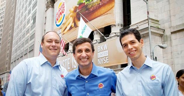 Burger King'in Halka Arz Edilmesi ve Satılması