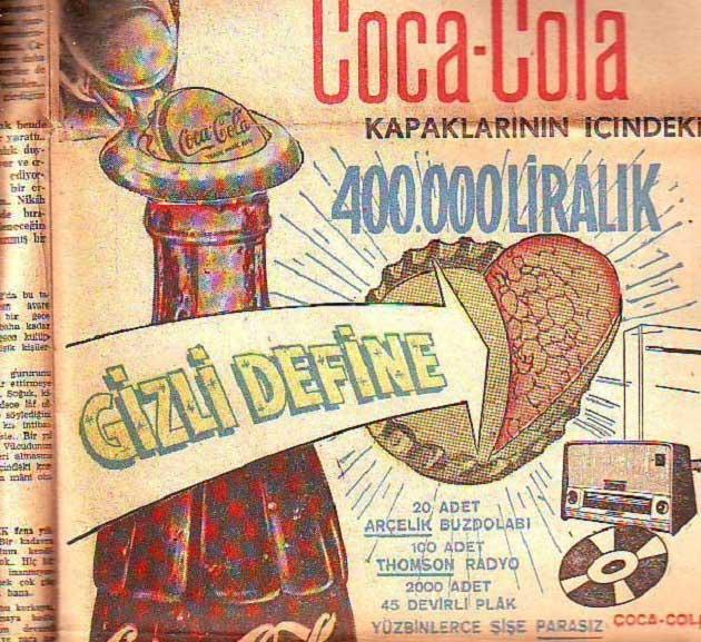 Coca Cola Gizli Define Kampanyası