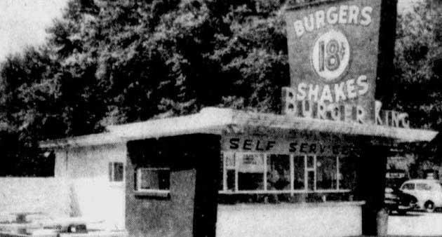 İlk Burger King Restoranlarından Birisi