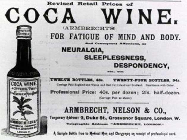 Pemberton French Wine Coca İsimli İlk Ürün