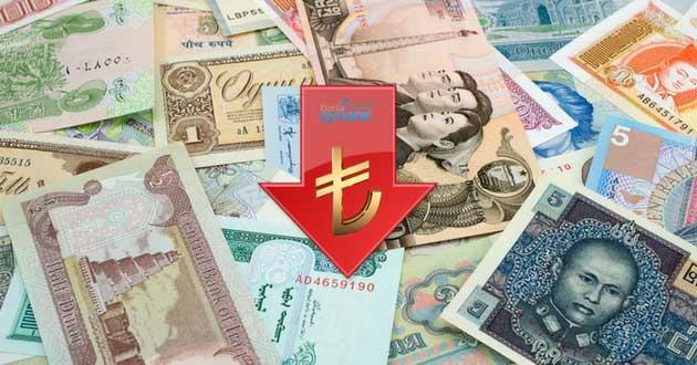 Dolar Sonrasında Türk Lirası Karşısında Rekor Yükseliş Kaydeden Para Birimleri