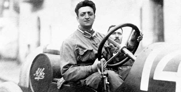Alfa Romeo Pilotu Enzo Ferrari