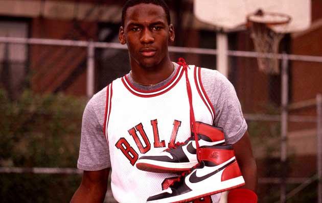 Michael Jordan İlk Nike Ayakkabılar
