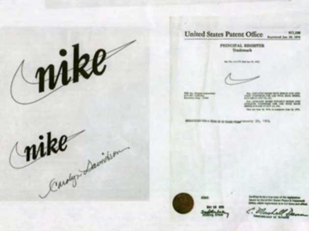 Nike Logo Patenti