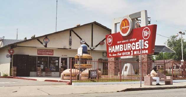 McDonald's Kardeşlerin San Bernardino Restoranı