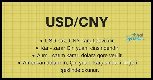 USD/CNY Paritesi