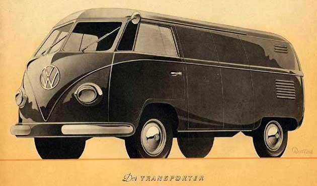 VW Transporter Modeli