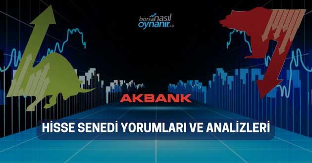 Akbank (AKBNK) Hisse Senedi Yorumları, Günlük Tahminler ve Analizler