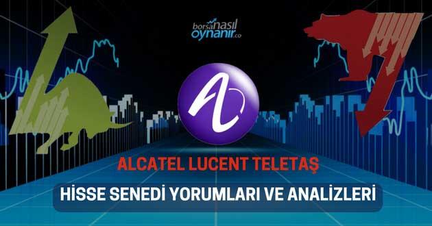 Alcatel Lucent Teletaş (ALCTL) Hisse Senedi Yorumları, Günlük Tahminler ve Analizler