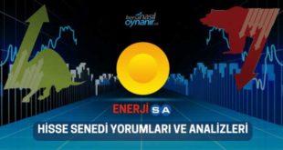 Enerjisa Enerji AŞ. (ENJSA) Hisse Senedi Yorumları, Günlük Tahminler ve Analizler
