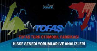 Tofaş Türk Otomobil Fabrikası (TOASO) Hisse Senedi Yorumları, Günlük Tahminler ve Analizler