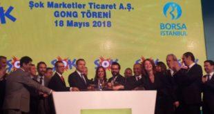 Şok Marketler Gong Töreniyle Borsa İstanbul'da İşlem Görmeye Başladı