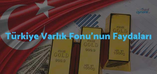 Türkiye Varlık Fonu'nun Faydaları