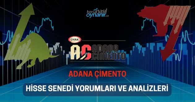 Adana Çimento (ADANA) Hisse Senedi Yorumları, Günlük Tahminler ve Analizler