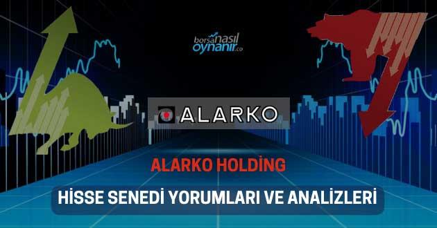 Alarko Holding (ALARK) Hisse Senedi Yorumları, Günlük Tahminler ve Analizler