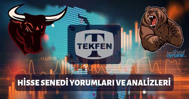 Tekfen Holding (TKFEN) Hisse Senedi Yorumları, Günlük Tahminler ve Analizler