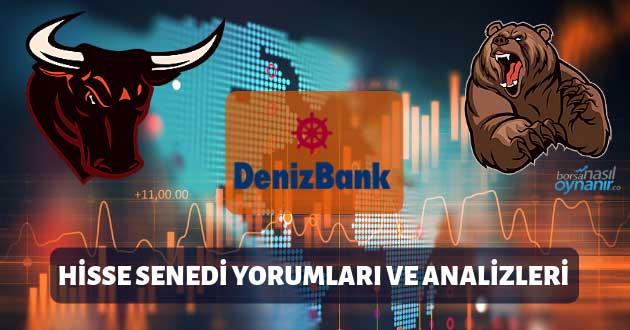 Denizbank (DENIZ) Hisse Senedi Yorumları, Günlük Tahminler ve Analizler