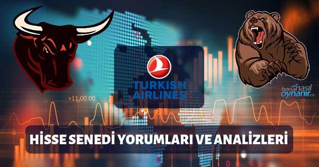 Türk Hava Yolları Anonim Ortaklığı (THYAO) Hisse Senedi Yorumları, Günlük Tahminler ve Analizler