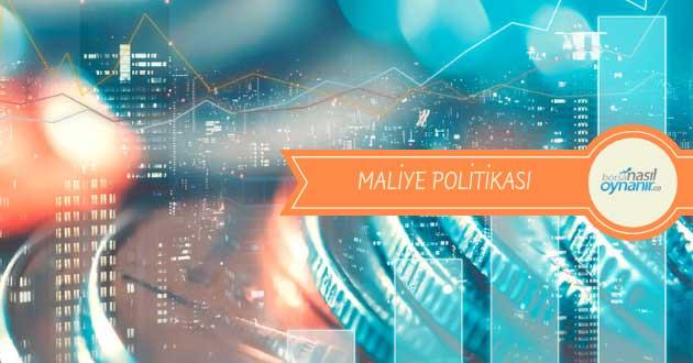 Maliye Politikası Hakkında Bilgiler: Nedir? Araçları ve Uygulamaları