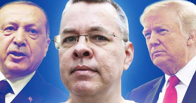 Rahip Brunson'ın Tutukluluk Süreci ve ABD Yaptırımları