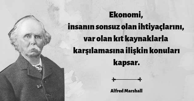 Alfred Marshall'ın Tanımı