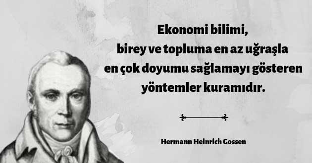 Hermann Heinrich Gossen'in Tanımı