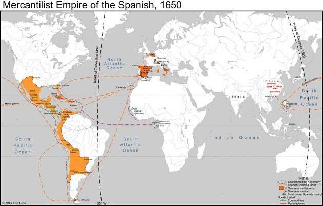İspanyol Merkantilizmi (Bulyonizm – Külçeci)