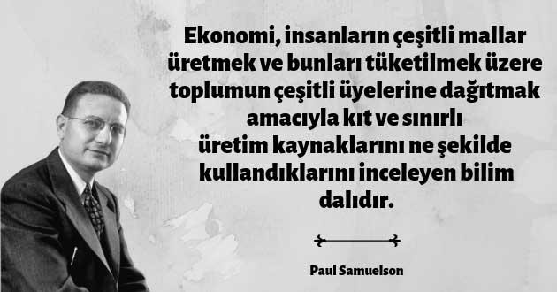 Paul Samuelson'un Tanımı