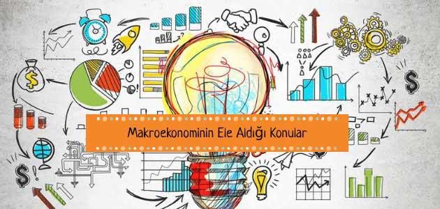 Makroekonominin Ele Aldığı Konular